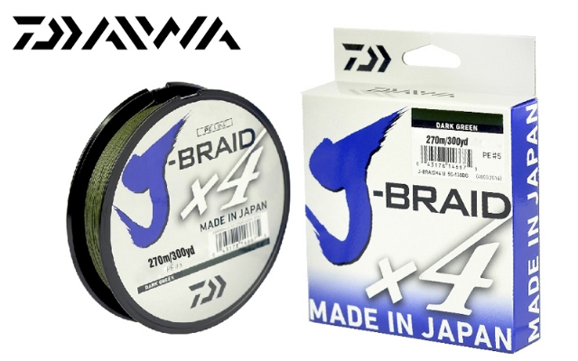 MULTIFILAMENTO DAIWA J-BRAID 4X