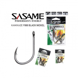 ANZOL KAMIKAZE F888 BLACK NICKEL C/ 2 UN